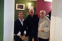 The director of Teatro Biondo of Palermo Roberto Alajmo visiting Brussels